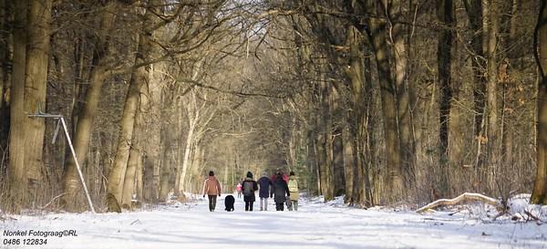 20210214 Schaatspret en sneeuwlandschappen in Ravels