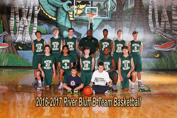 2016-2017 B-Team Boys Basketball