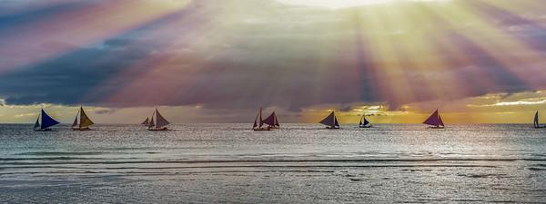 Boracay, Philippines - Jan 2017