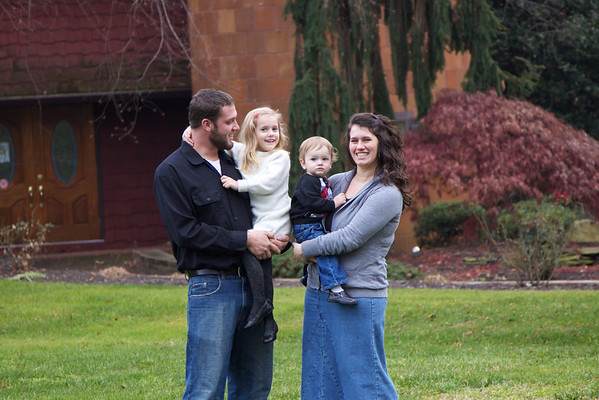 Vance Family 12-2-12