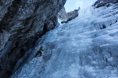 02 18 Zajzera, Lepa Furlanka ice fall