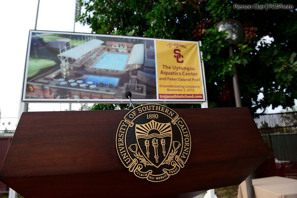 Uytengsu Aquatic Center Groundbreaking 2012