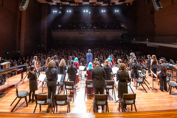 Afghan Orchestra Monash University Debut