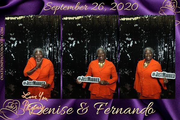 9 26 20 Denise & Fernando