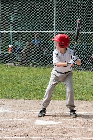 2018 5-26 Baseball - Wolverines - Coach Ryan