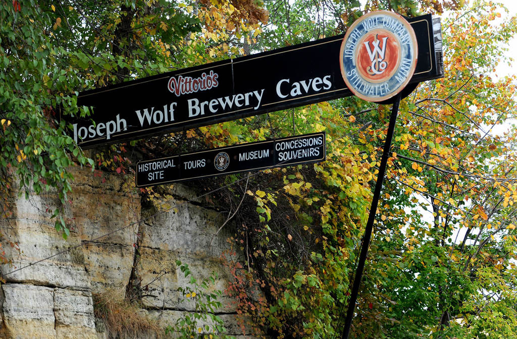 . Joseph Wolf Brewery Caves, which housed a brewer in the late 1800s, is open for tours on weekends. (Pioneer Press: Jean Pieri)