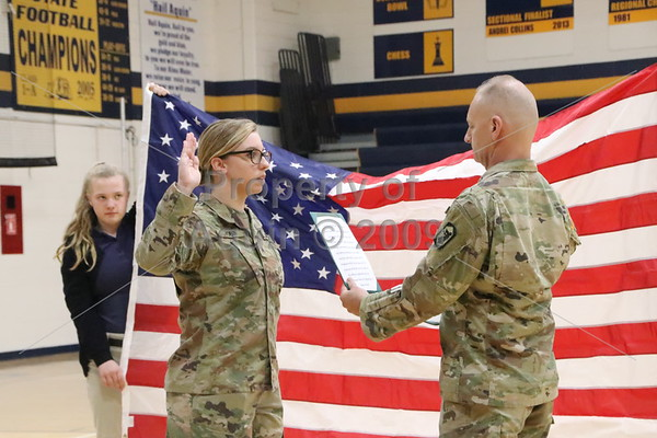 mrs. tobin's national guard re-enlistment ceremony . 4.29.19