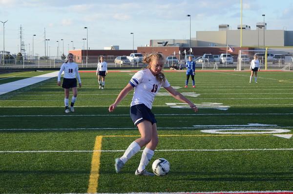 Varsity Girls Soccer vs Bennington
