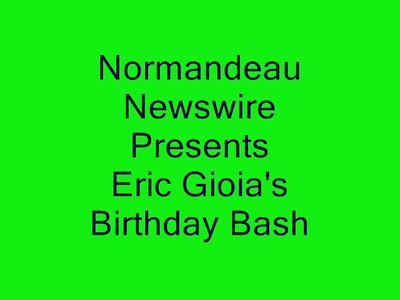 GIOIA - Eric Gioia Fan Club Pix