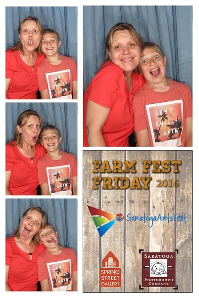 Saratoga Arts' Farm Fest Friday