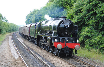 Royal Scot Class preserved locos