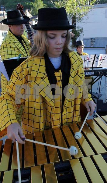 """Park City high school band"" , 0064"