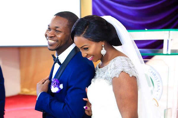 Tope and Wole Wedding