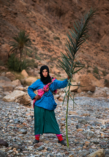 A young Berber nomad.  Todra Gorge, Morocco, 2018.