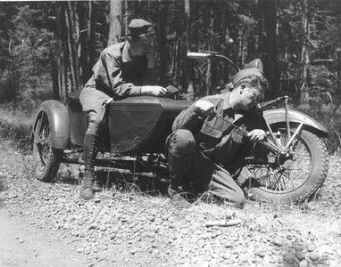 Sidecars at War..