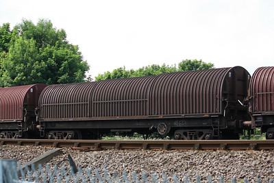 BYA - Bogie Covered Steel Coil Carrier