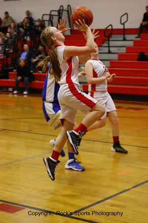 Sheridan vs West Muskingum 7th Grade Girls