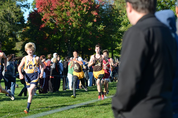 Additional Varsity Race On-Course Photos - 2016 Oakland County XC Championships