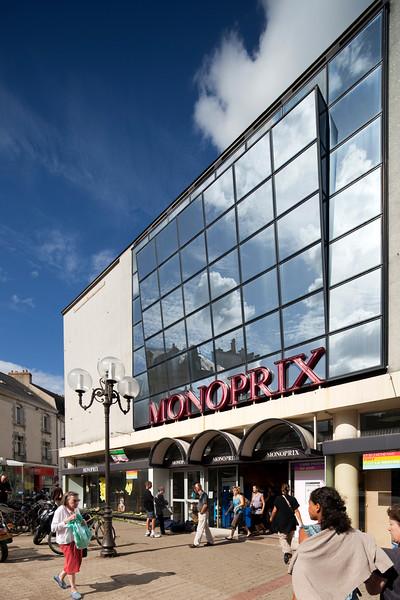 Monoprix store, Vannes, department of Morbihan, region of Brittany, France
