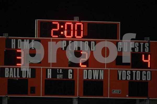 Varsity-Oak Grove vs Warrensburg 10-2-08
