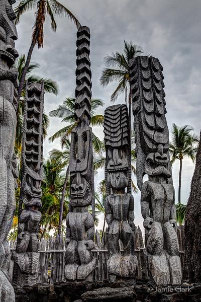 Kaloko-Honokohau National Historical Park @Kona Side of the Big Island, Hawaii, April 2016