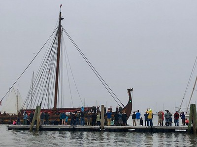 Draken Harald Harfagre viking ship