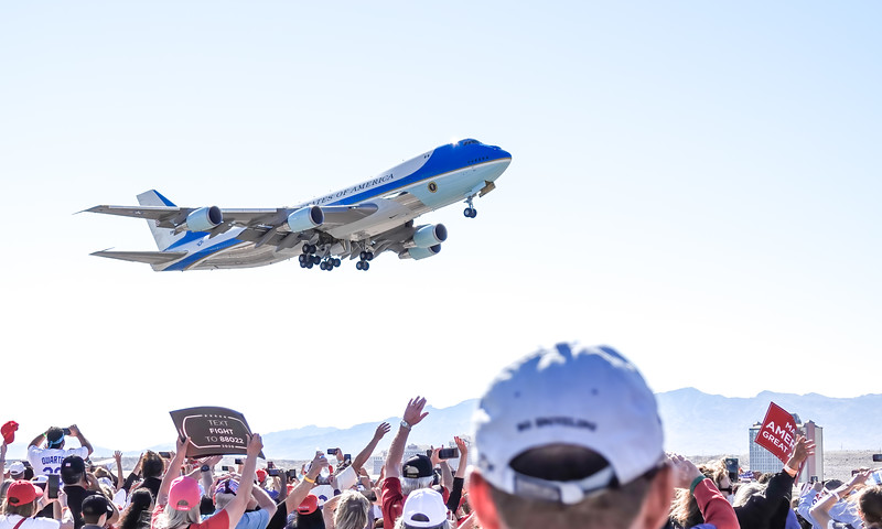 President Trump Air Force One