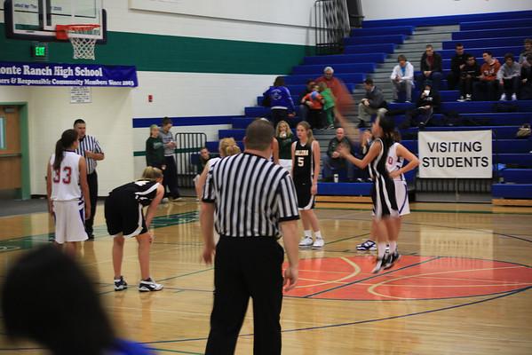 Galena HS Girls JV Basketball vs. Reno 12-26-09