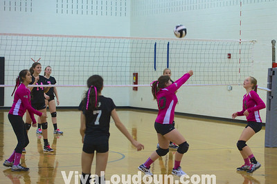 Volleyball: Freshman Woodgrove at Dominion 10.15.13 (by Jeff Scudder)