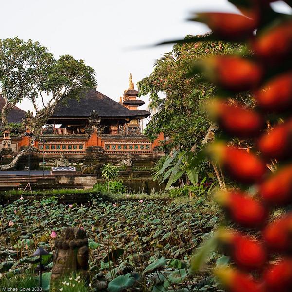 Pura Taman Saraswati Temple, Ubud, Bali
