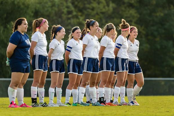 CC Varsity Girls Soccer vs Delphi 2017-8-24