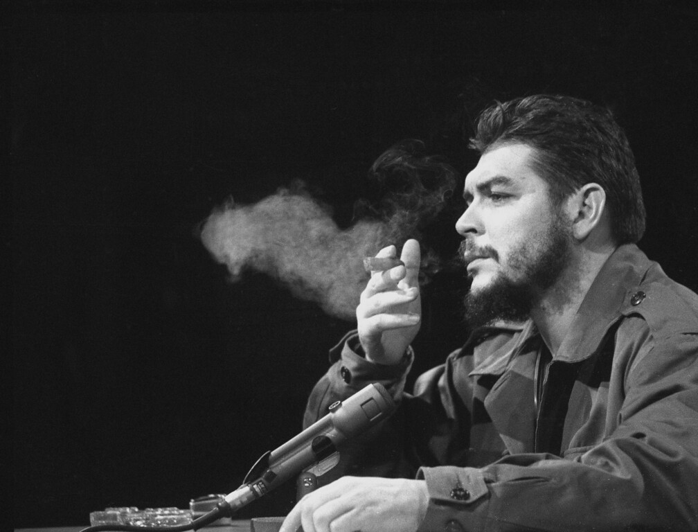 ". Latin American revolutionary Ernesto ""Che\"" Guevara is seen in 1964.  (AP Photo)"