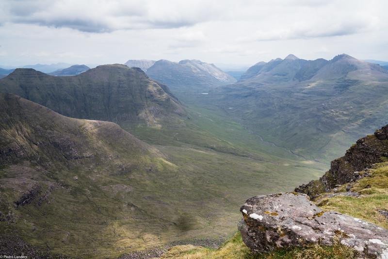 Torridon Peaks from Tom na Gruagaich