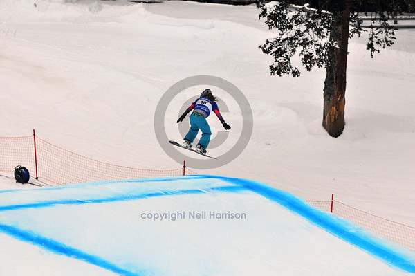 FIS Snowboard finals 2010 Feminine