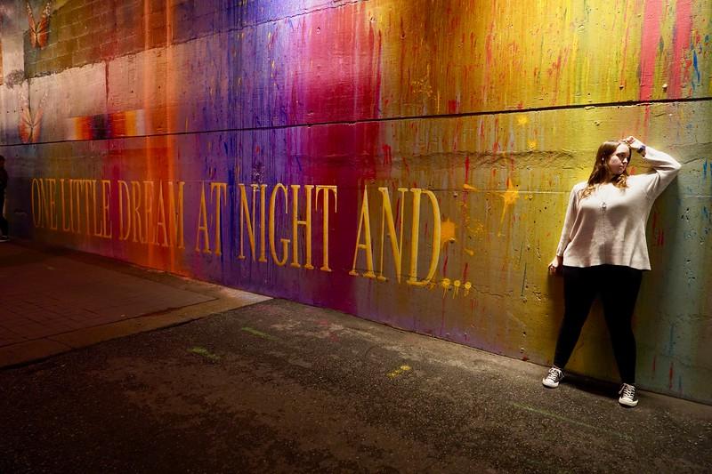 Street Assignment: Night Environmental Portraits