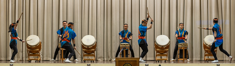 San Jose Taiko at 2019 Day of Remembrance