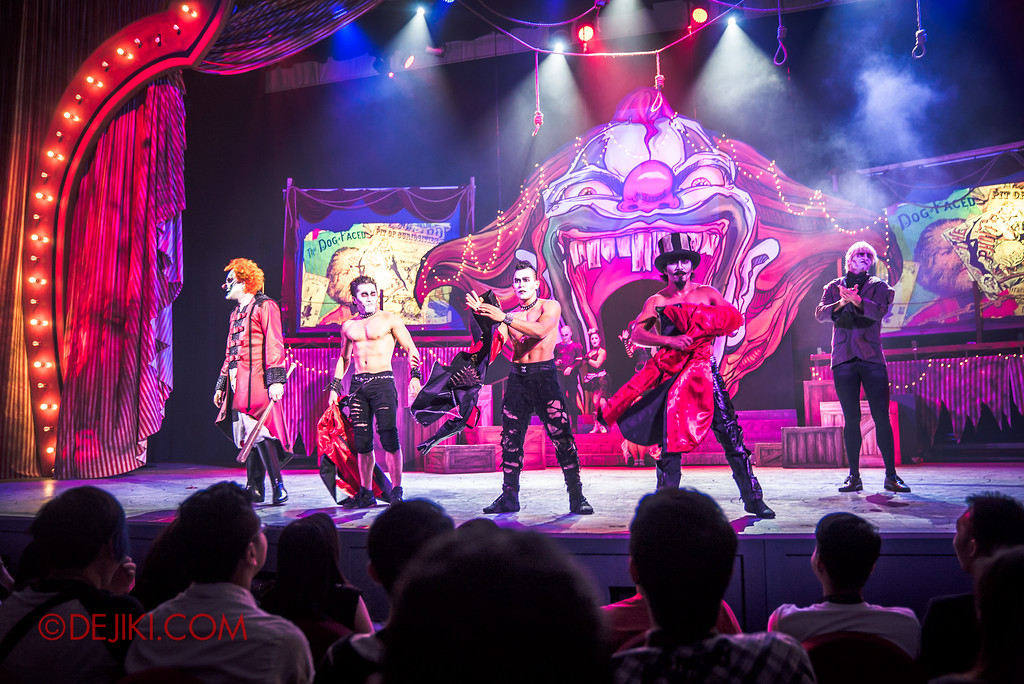 Halloween Horror Nights 6 - Jack's Recurring Nightmare Circus / Mary, Scary and Hairy strips