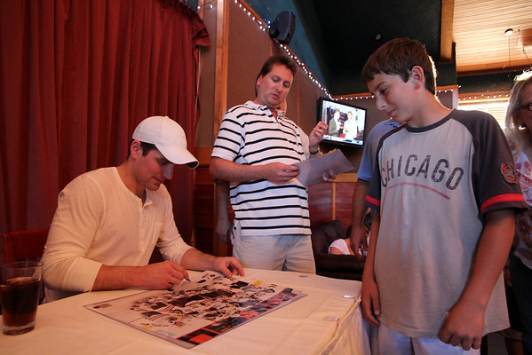 Patrick Sharp Signing 06/24/2010