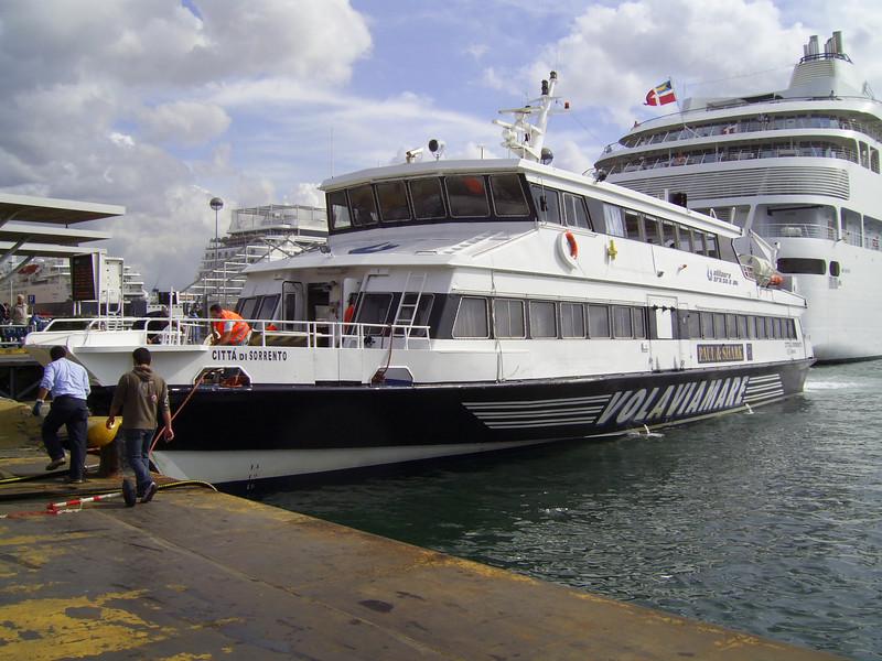 HSC CITTA' DI SORRENTO moored in Napoli.
