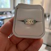 2.10ct Art Deco Peruzzi Cut Diamond Ring, GIA W-X SI2 6