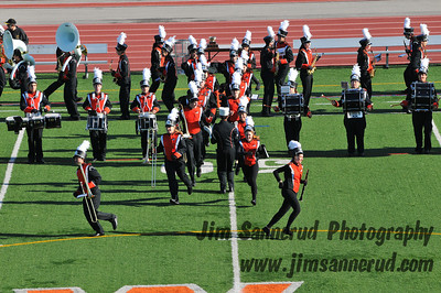 WPHS Marching Band at 2011 Turkey Bowl