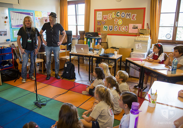 ES Singers Collaborate with Gotthard