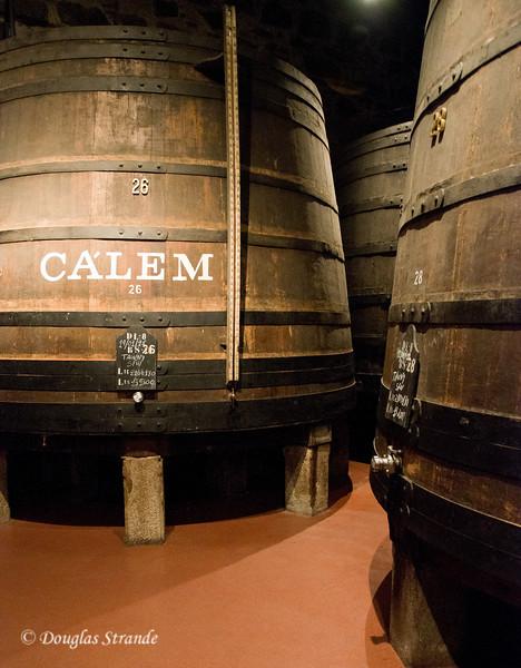 Sat 3/19 in Gaia: Giant wood casks of Port Wine