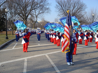 Inaugural Parade - Staging Area Photos