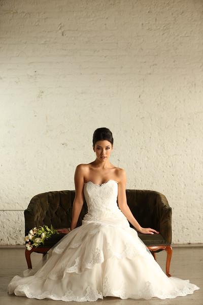 SILK Bridal - Studio Bridal Shoot