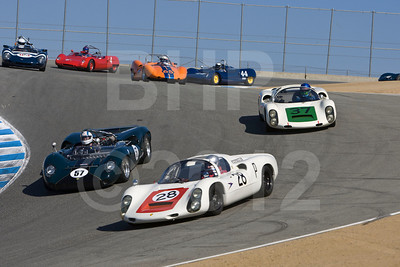 2012 Monterey Pre-Reunion Saturday Group 8 – 1960-1968 Sports Racing USRRC Cars
