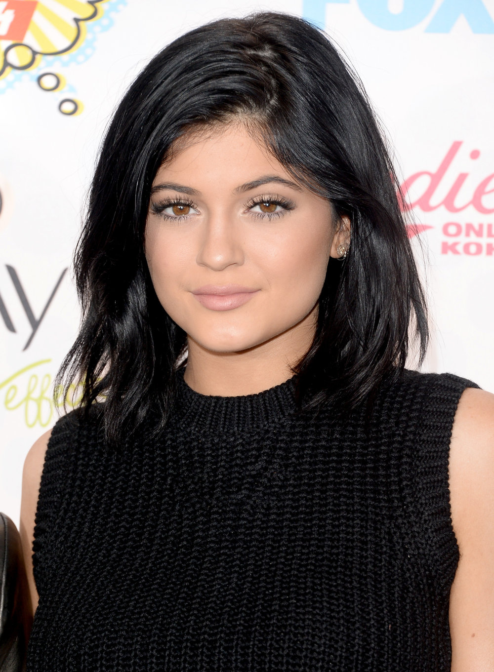 . TV personality Kylie Jenner attends FOX\'s 2014 Teen Choice Awards at The Shrine Auditorium on August 10, 2014 in Los Angeles, California.  (Photo by Jason Merritt/Getty Images)