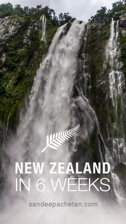 New Zealand 6 weeks itinerary
