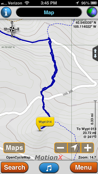 We chose to do a little more hiking, but if you are short on time, you could take the last switchback and hike about .25 miles to the summit.  It takes a lot of time to get up here from Red Feather Lake area.  Slow, gravel roads.