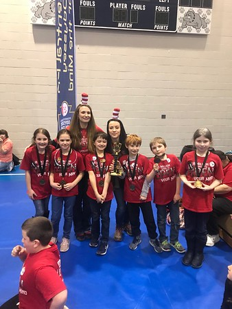 2019 Odyssey of the Mind Regional Winners